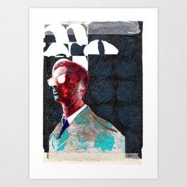 INTO THE DAZZLE Art Print
