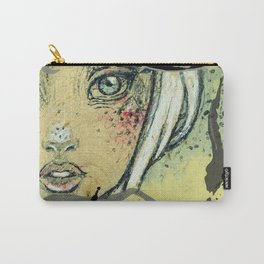 Love Face Ink Carry-All Pouch