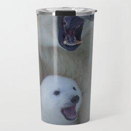 Bear polar cub Travel Mug