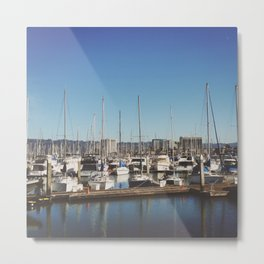 The Dock of the Bay Metal Print