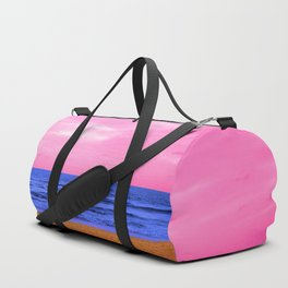 Plastic Beach Duffle Bag
