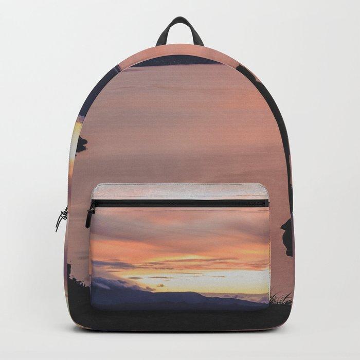 Surise over Lago de Atitlán Backpack