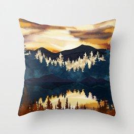 Fall Sunset Throw Pillow