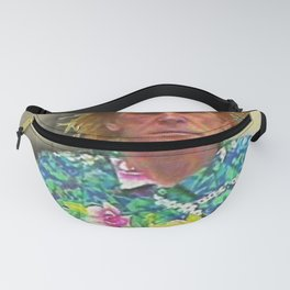 Nick Nolte Mugshot Mug Shot Painting Vertical Fanny Pack