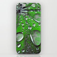 water drops abstract VI iPhone & iPod Skin