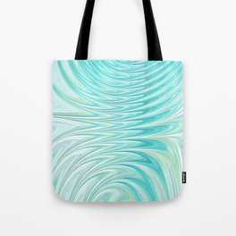 Teal Dreams Collection (6) - Fractal Art  Tote Bag