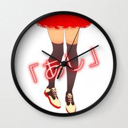 Legs by bluethebone Wall Clock