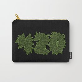 420 - Cannabis Blooms Letters - Weed Hemp Carry-All Pouch