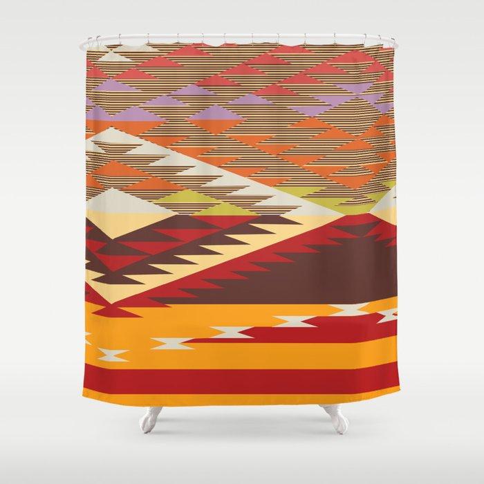 Colorful Ative Shower Curtain Motif - Luxurious Bathtub Ideas and ...