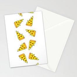 i want pizza Stationery Cards