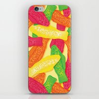 swedish iPhone & iPod Skins featuring Swedish Fish by Paper Bicycle