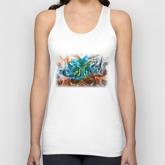 liquified time Unisex Tank Top