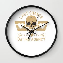 Single separation ex-girlfriend divorce gift joke Wall Clock