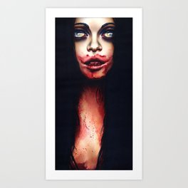 We Couldn't Let Rosemary Go -She's Shackled In The Cellar Art Print