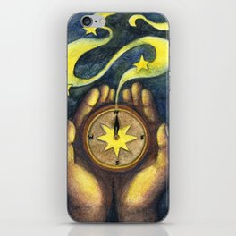 Compass of the Stars iPhone Skin