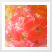 Sakura Pink Art Print