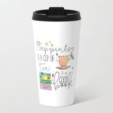 Happiness is... /Tea Travel Mug