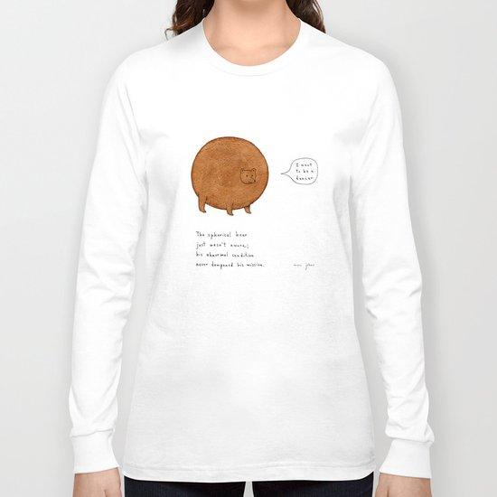 the spherical bear Long Sleeve T-shirt