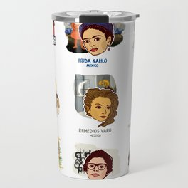 A Brief Guide to 20th Century Latina Artists Travel Mug