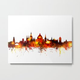 Oxford Skyline Metal Print