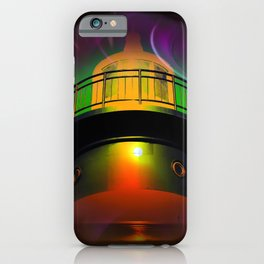 Lighthouse romance - Abstract in perfection  iPhone Case