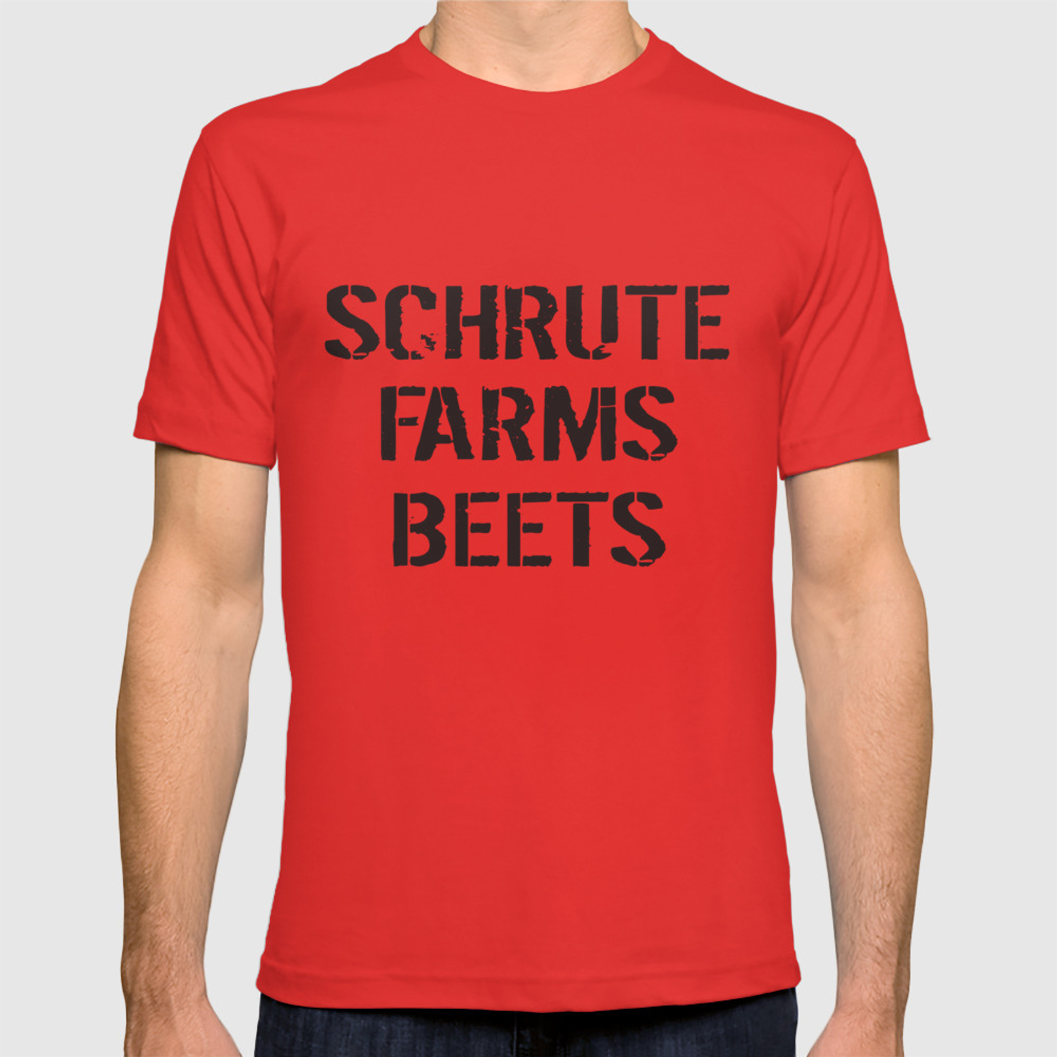 03f7d4be8 Schrute Farms Beets Adult Funny Humor Tv Countryside Dwight Farm T-shirt by  alberthahegwood | Society6