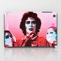 rocky horror picture show iPad Cases featuring The Rocky Horror Picture Show - Pop Art by William Cuccio aka WCSmack