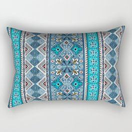 Grand Bazaar - Blue Rectangular Pillow