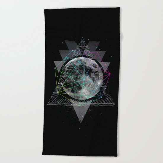 The Moon Beach Towel