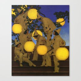 The Lantern Bearers by Maxfield Parrish Canvas Print