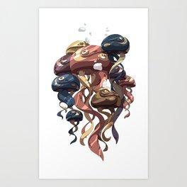 Jelly Parade Art Print