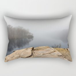 Foggy reflections Rectangular Pillow