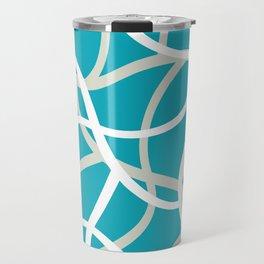 ABSTRACT LINES 001 Travel Mug