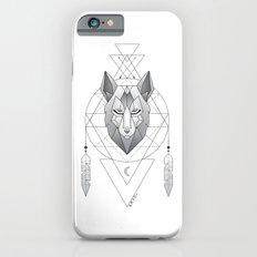 Geometric Wolf Dream Catcher iPhone 6s Slim Case