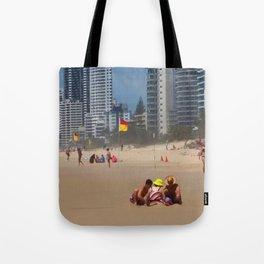 Sandcastles Tote Bag