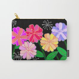 Plasticine Flowers with Dandelion Seed Carry-All Pouch