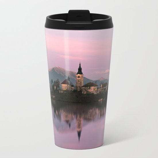 Bled, Slovenia Metal Travel Mug