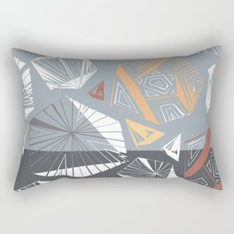 Geometric abstraction. Rectangular Pillow