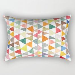 Triangle Tapestry Rectangular Pillow
