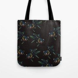 Black goldfish Tote Bag