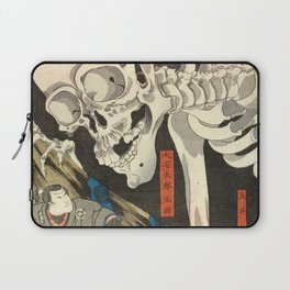 Utagawa Kuniyoshi - Takiyasha the Witch and the Skeleton Spectre Laptop Sleeve