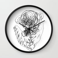 wave Wall Clocks featuring Wave. by sonigque