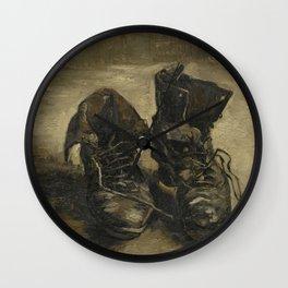 Vincent van Gogh - Boots Wall Clock
