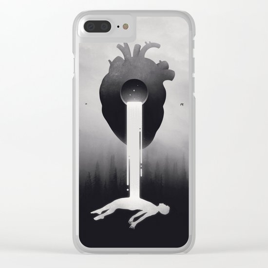 Glimpse of Light Clear iPhone Case