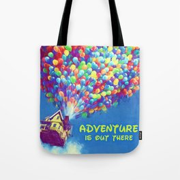Up Balloons Tote Bag