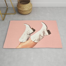 These Boots - Pink Rug