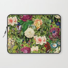 Vintage Floral Garden Laptop Sleeve