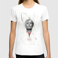 house of cards T-shirts featuring House of Cards - Claire Underwood by teokon