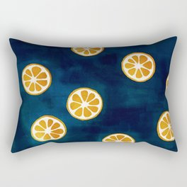Orange Slices Rectangular Pillow