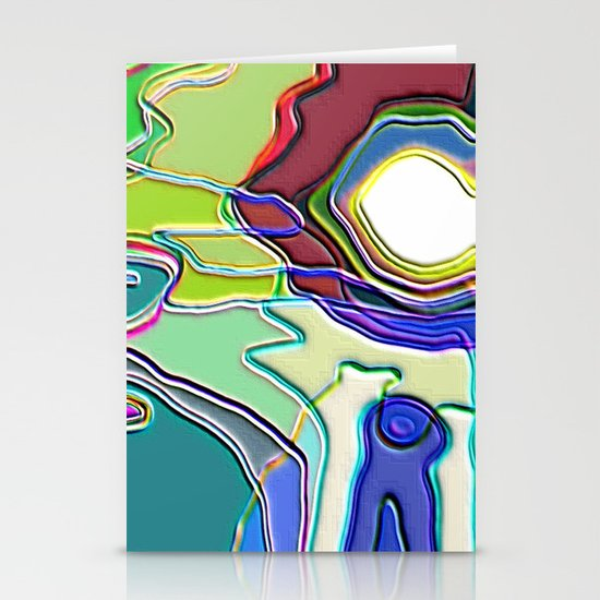 Contours 2 Stationery Cards